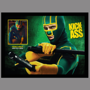 KICK-ASS MOVIE SIGNED BY AARON TAYLOR-JOHNSON