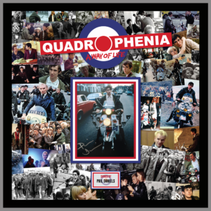 QUADROPHENIA MONTAGE PICTURE SIGNED BY PHIL DANIELS