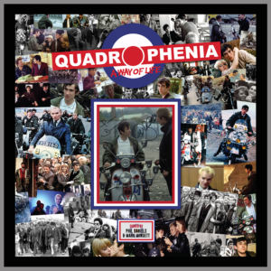 QUADROPHENIA MONTAGE PICTURE SIGNED BY PHIL DANIELS AND MARK WINGETT