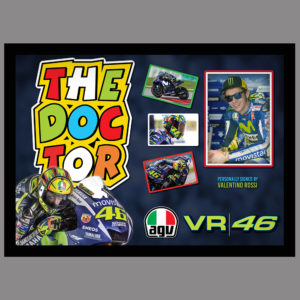VALENTINO ROSSI - THE DOCTOR - SIGNED PICTURE