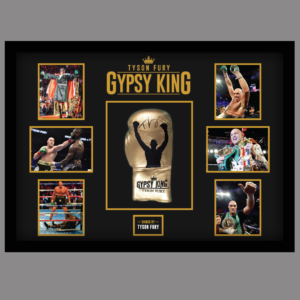 TYSON FURY - GYPSY KING - SIGNED BOXING GLOVE