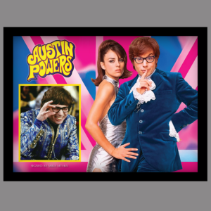 AUSTIN POWERS PICTURE SIGNED BY MIKE MYERS